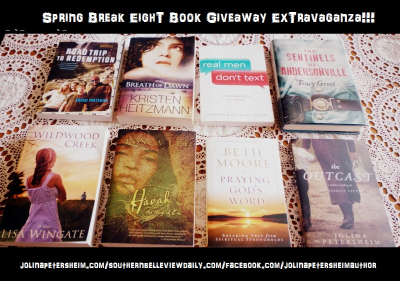 eight book giveaway